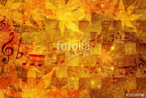 """ロイヤリティーフリーのベクター """"音符 楽譜 もみじ"""" は J BOY が作成し 、Fotolia.com から格安でダウンロードできます。弊社のお手頃な価格の画像コレクションを閲覧して、マーケティングプロジェクトなどにぴったりのベクター素材を見つけて下さい!"""