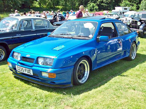 562 Ford Sierra Rs Cosworth 1986 Ford Sierra Ford Classic Cars Car Ford
