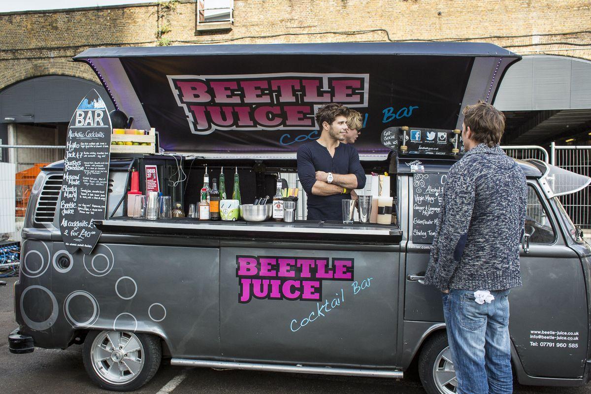 Volkswagen Food Truck Beetle Juice On 2013 Classic Car Boot Sale