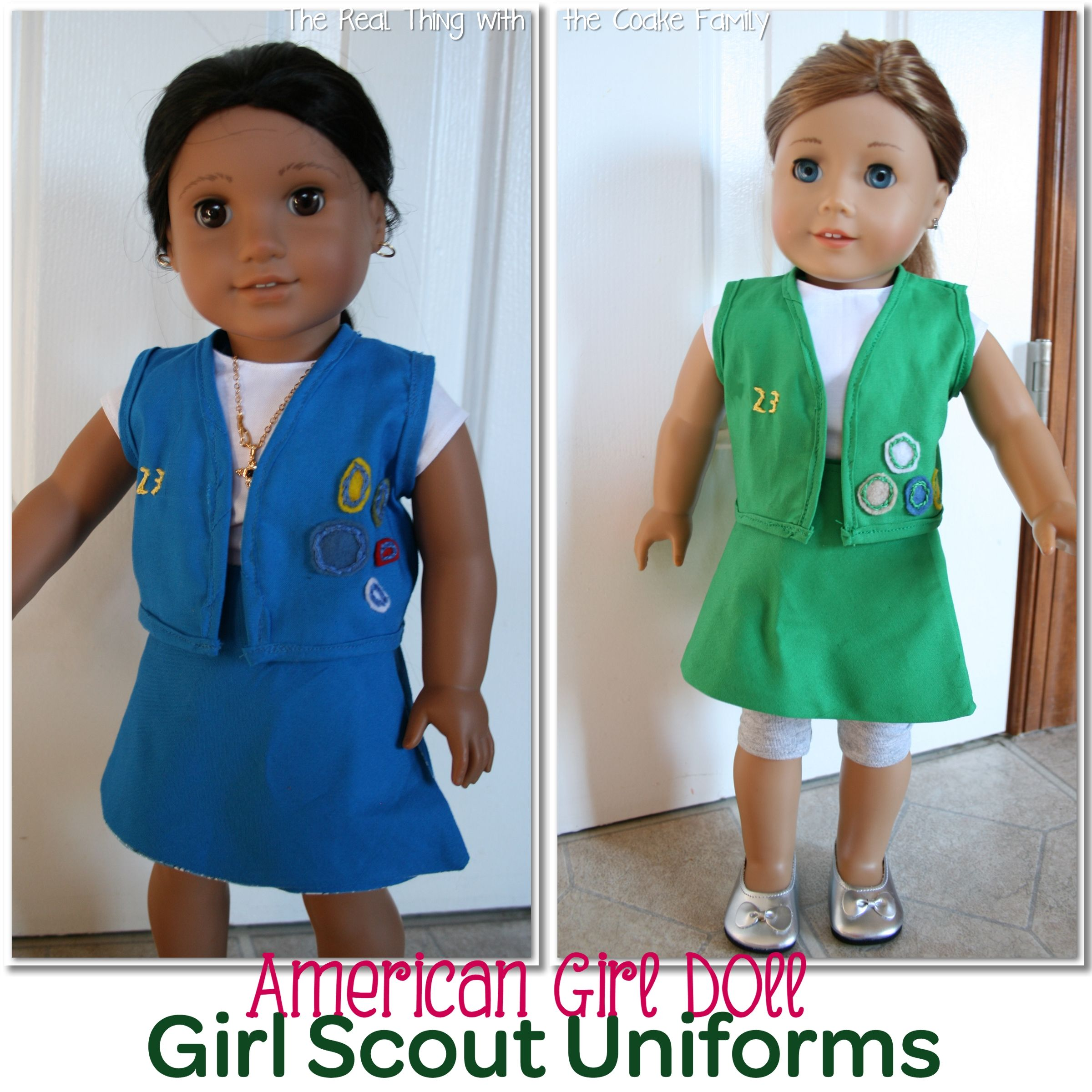 Free American Girl Doll Patterns: Girl Scout Uniform