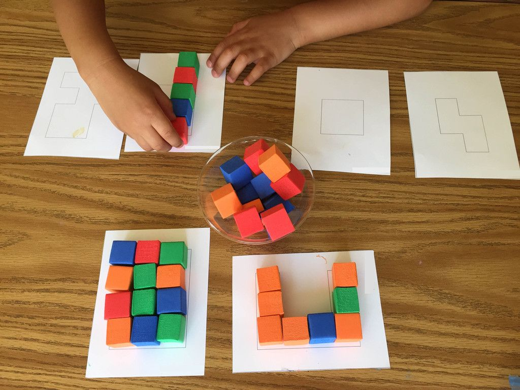 Foam Cubes Mini Manipulatives