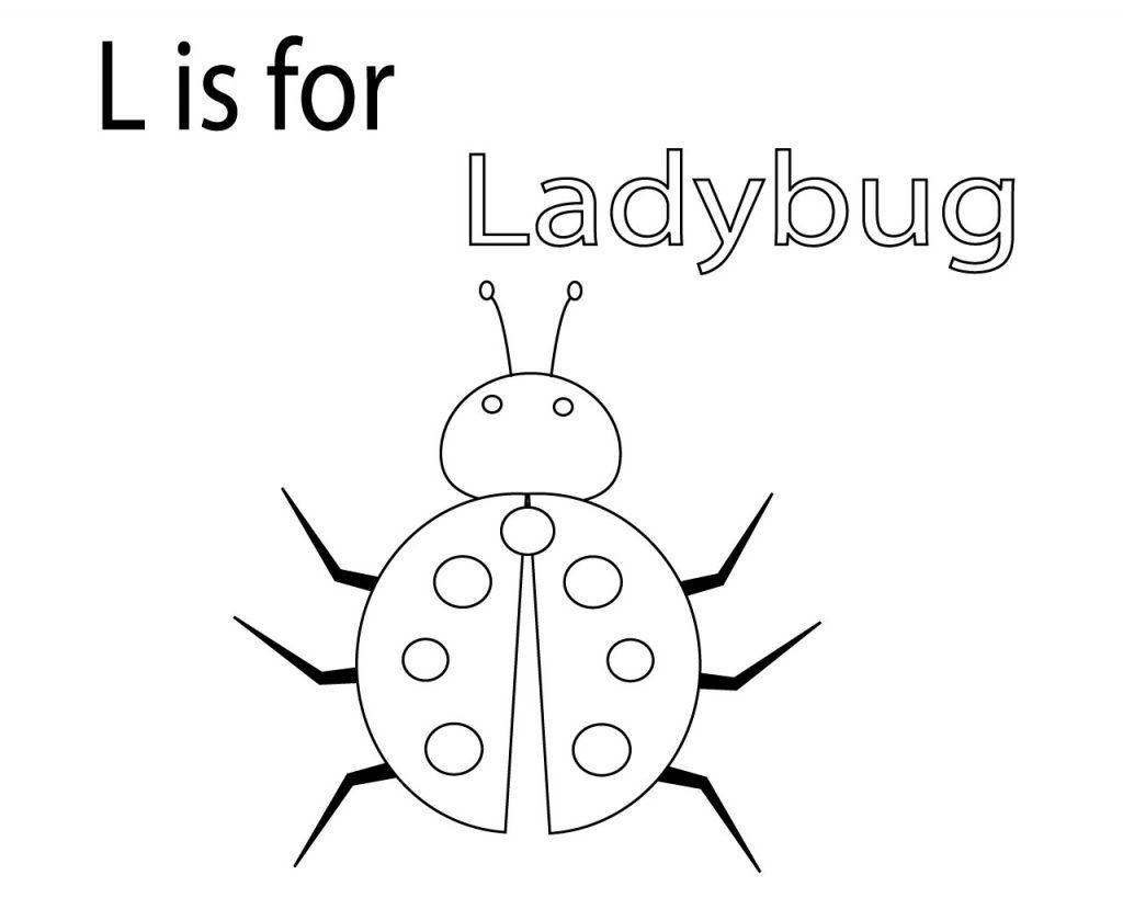 Ladybug Coloring Pages Printable