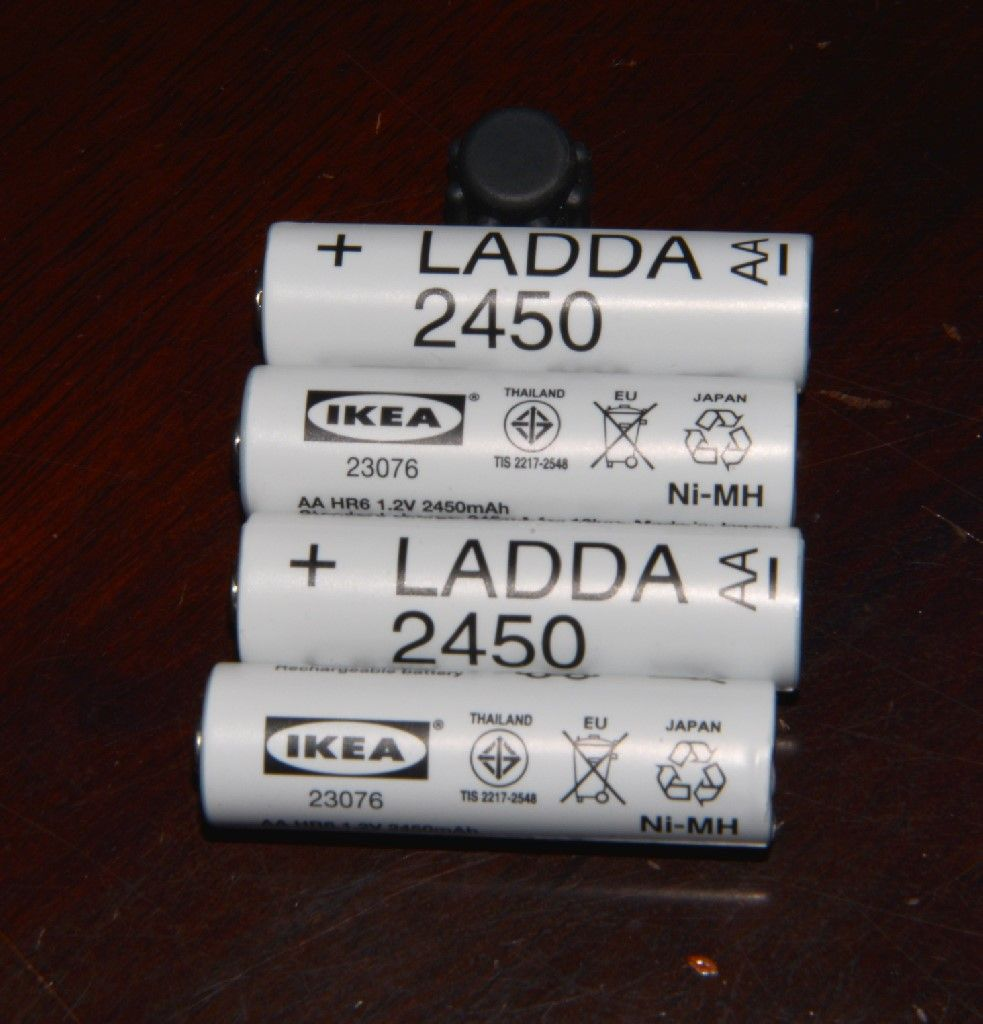 Ladda Rechargeable Battery Hr6 Aa1 2v Ikea Rechargeable Batteries Car Fix Helping People