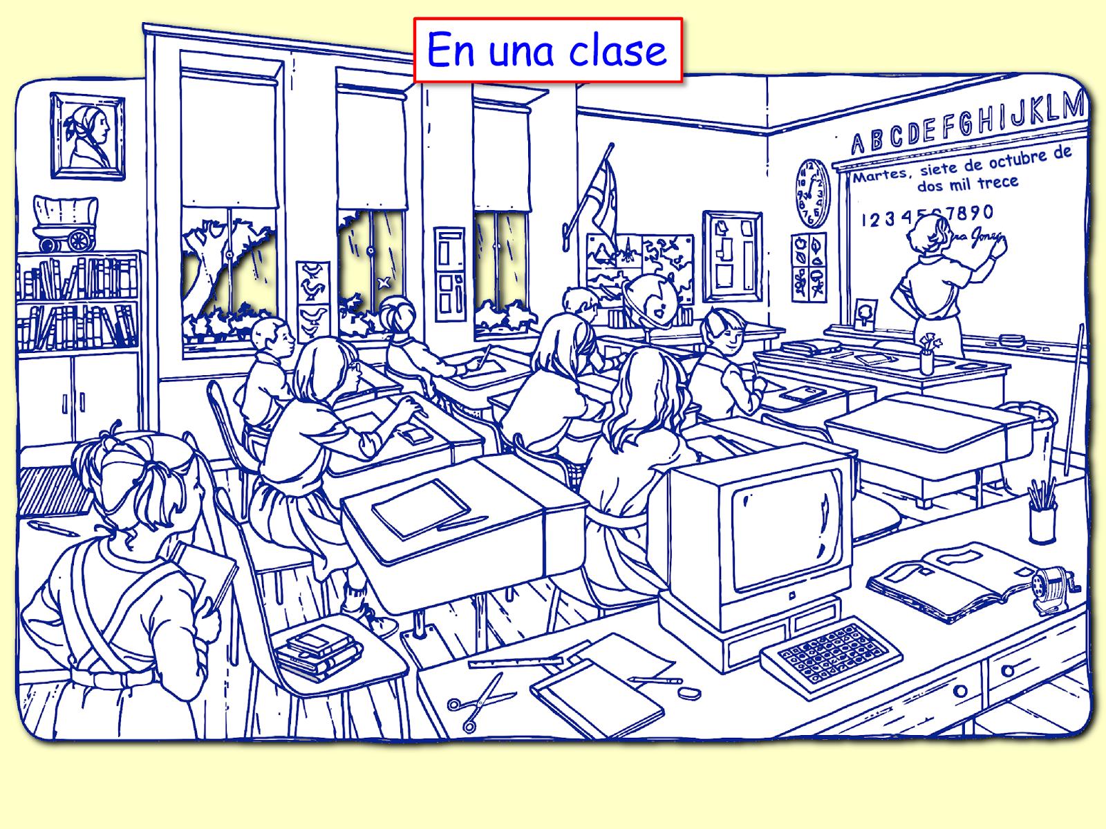 Me Encanta Escribir En Espanol En Una Clase