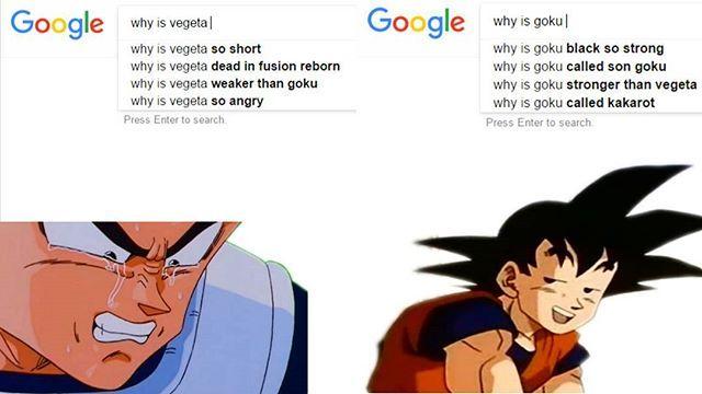 Lmao Ps Goku Rules Double Tap If You Find This Meme Funny Goku Vegeta Dragonbal Anime Funny Goku Black Dragon Ball Z