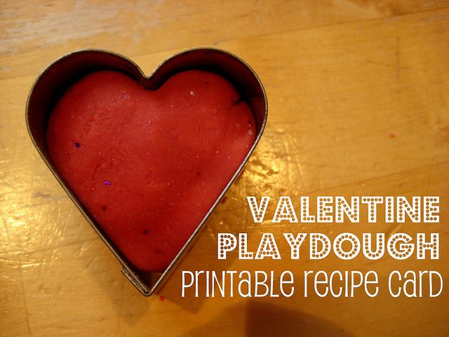 valentine playdough by Cathy @ Nurturestore.co.uk, via Flickr