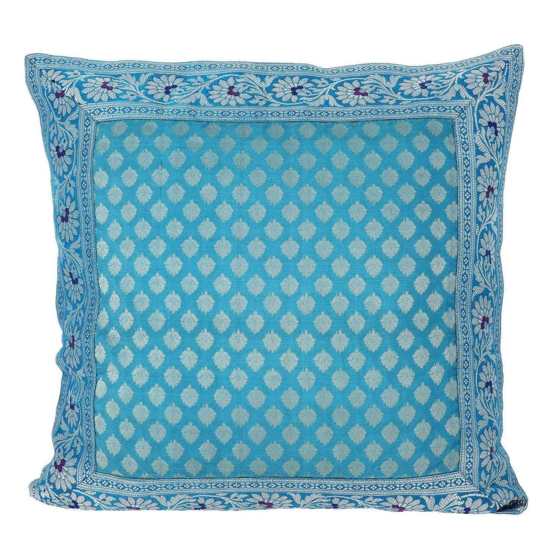 Amazon turquoise blue cushion covers pillowcase x silk