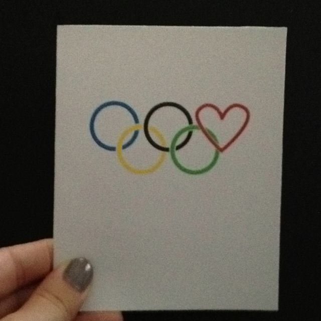 Olympic Anniversary Card Ink Link Anniversary Cards Elegant Cards