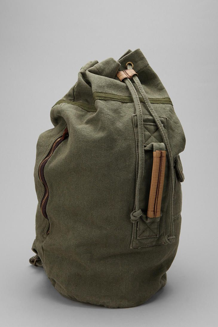 Canvas Duffle Backpack  9e238fbfc2906