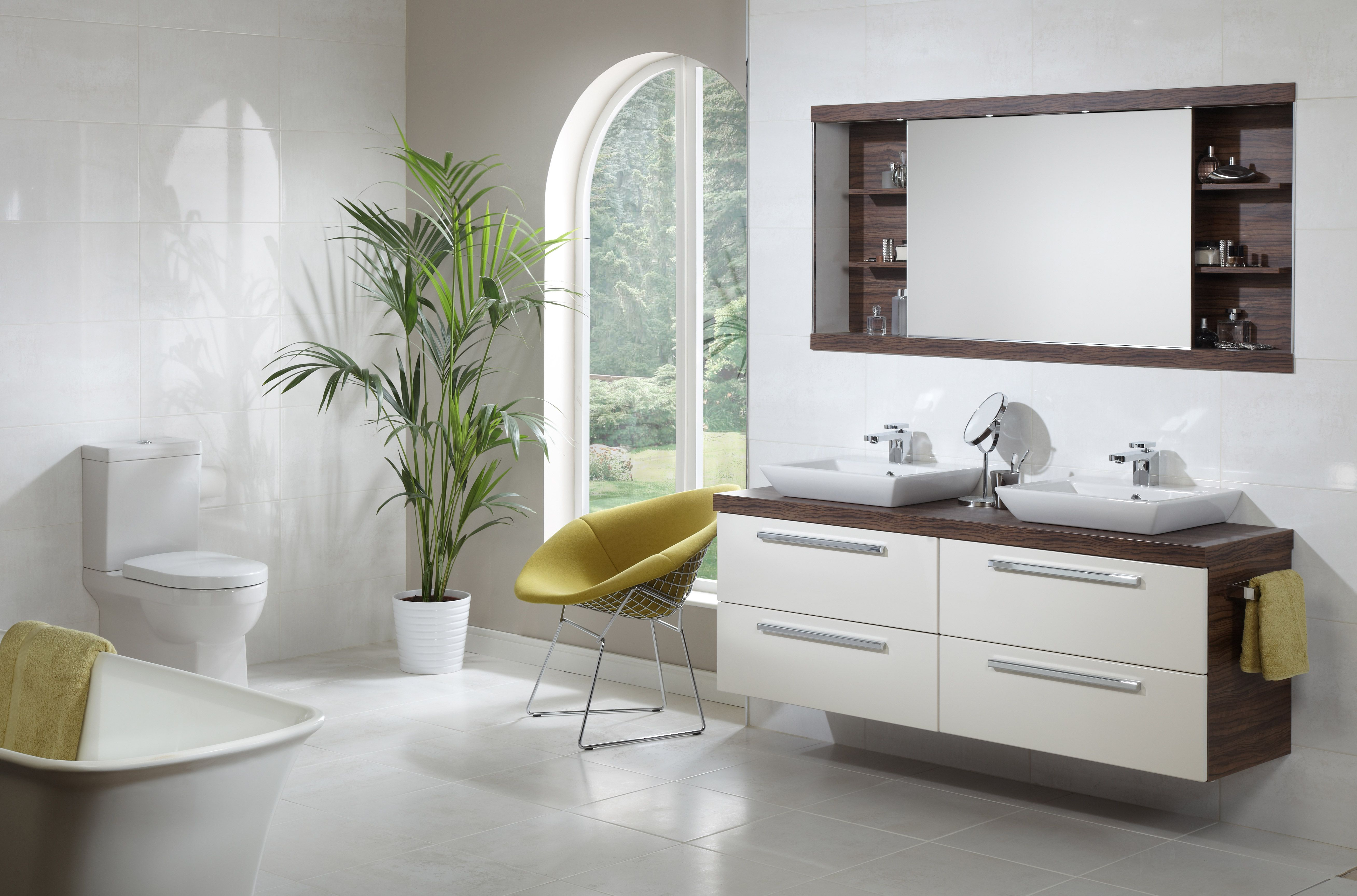 Clean contemporary bathroom design by the team at Beyond Bathrooms ...