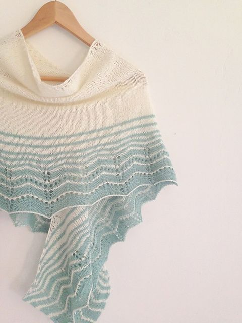 Knitting Patterns Galore - Marcelle Wrap - Fingering Weight Yarn ...