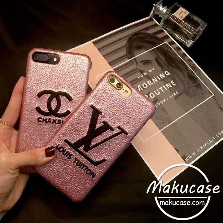 b6803dde2cd0 シャネル iphoneケース 可愛い ルイヴィトン アイフォン8ケース ピンク色 chanel iphone7plusケース 女性専用 革製 lv  iphone7ハードケース iphone6s plusケース 刺繍 ...