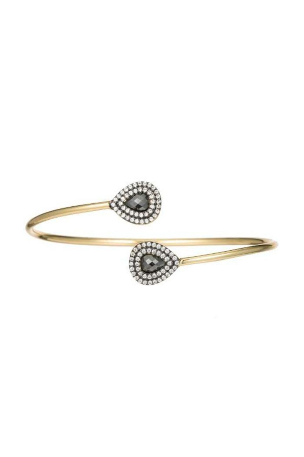 Pyrite bangle bracelet k gold bangle and bracelets