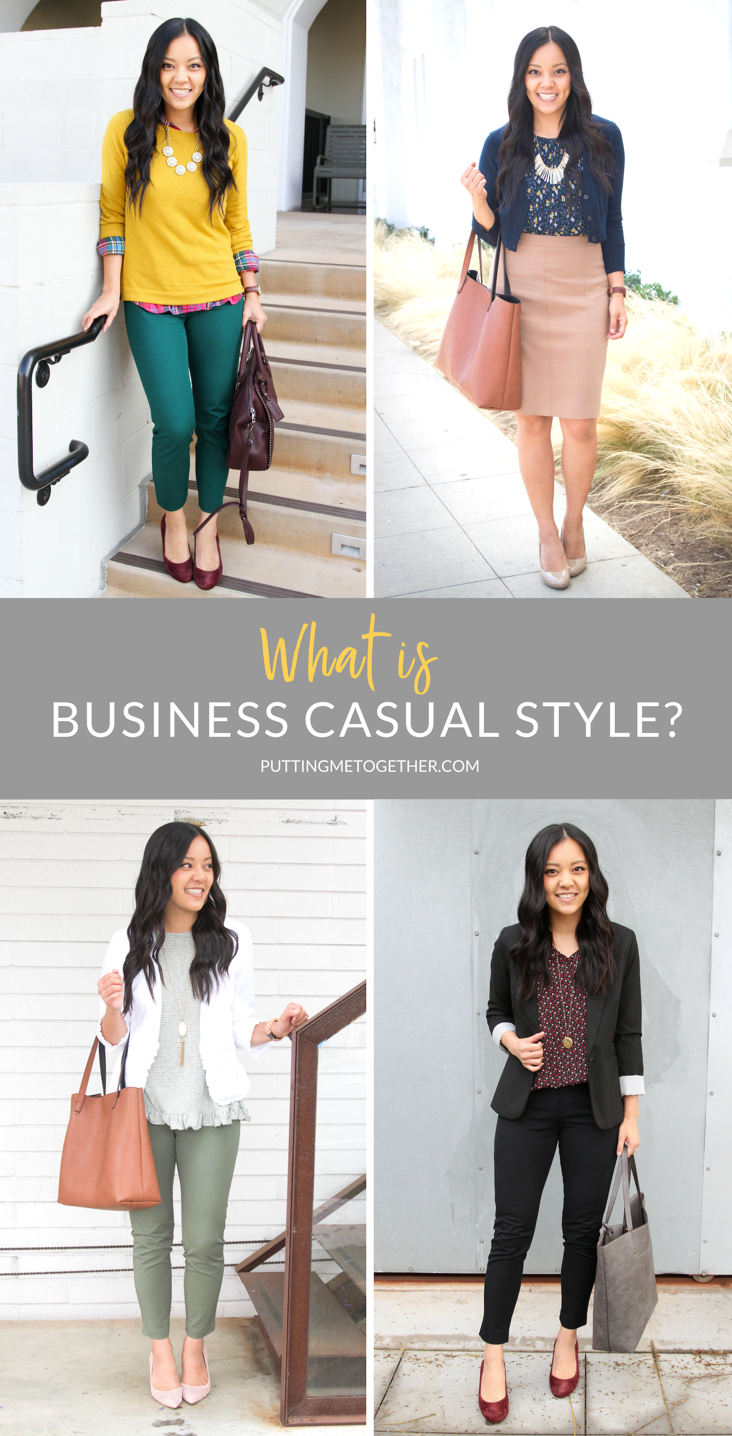 What Is Business Casual Style + Easy Business Casual Outfit Formula