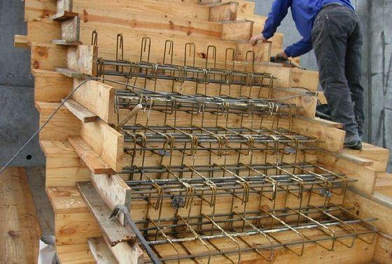 Escaleras de concreto nuestra casa pinterest for Como hacer gradas