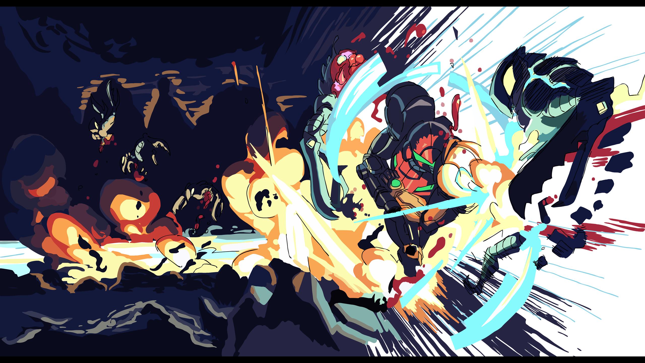 Metroid Prime Metroid, Metroid samus, Samus aran