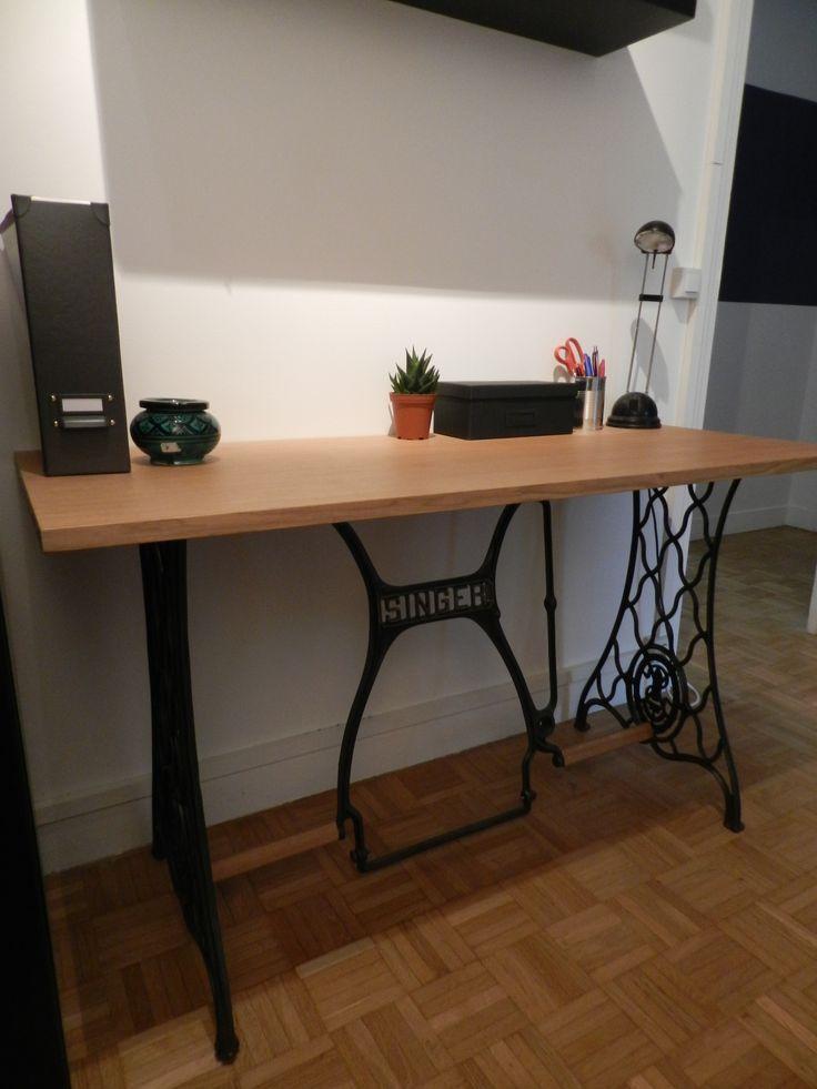 r sultat de recherche d 39 images pour deco avec pied machine a coudre deco pinterest. Black Bedroom Furniture Sets. Home Design Ideas