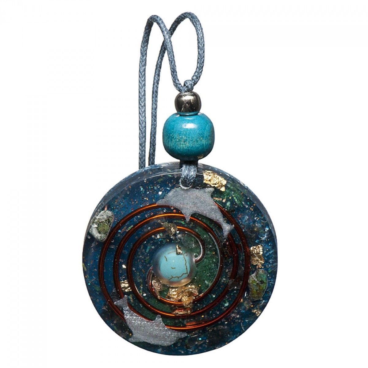 Turquoise orgonite pendant stuff to buy pinterest explore stuff to buy healing and more turquoise orgonite pendant mozeypictures Images