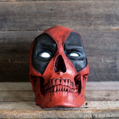 Deadpool Skull | Kaufen | Pinterest | Kaufen