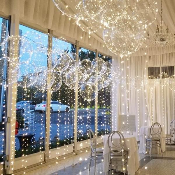 Reusable Led Balloon Centerpieces Party Decorations - White / 40 PACK