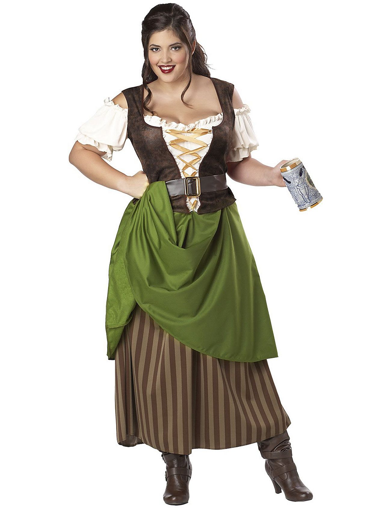 this tavern maiden adult plus costume is a great choice for a