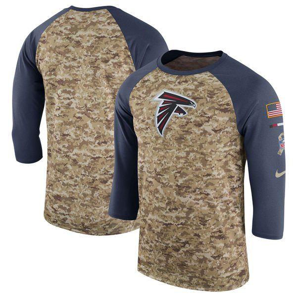 Atlanta Falcons Military Hoodie, Salute