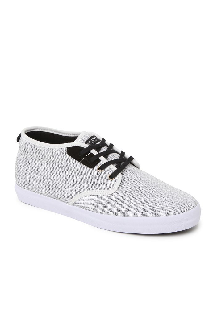 size 40 71227 25e26 Globe creates a hybrid skate shoe found at PacSun. The Cardinal Gray Shoes  have a