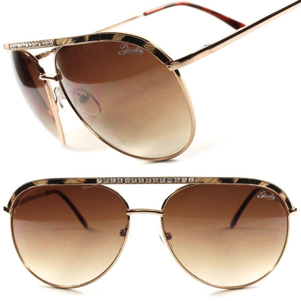 Designer Stylish Gold Hot Vintage Retro Mens Womens Best Aviator Sunglasses  C50A db22d323d8
