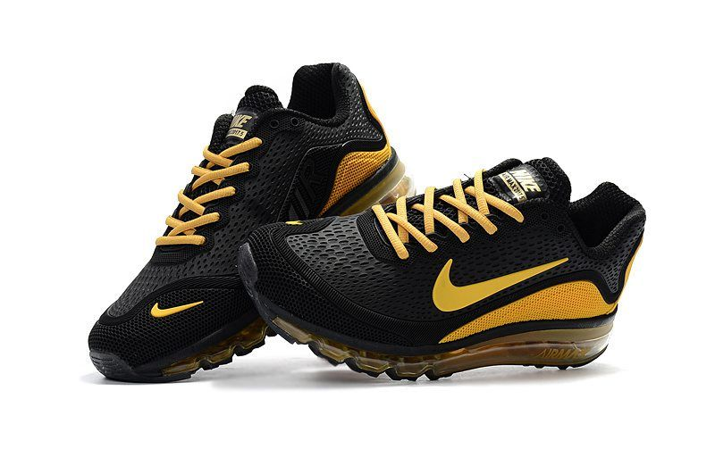 newest 74417 49d11 New Coming Nike Air Max 2017 5 Max KPU Yellow Black