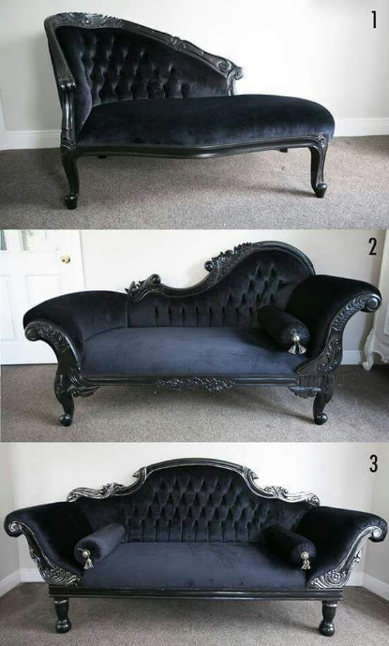 Fringe Furniture #gothichome
