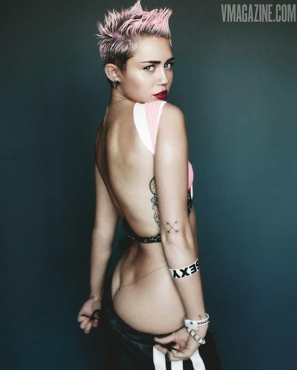 Photos de miley cyrus extra nu