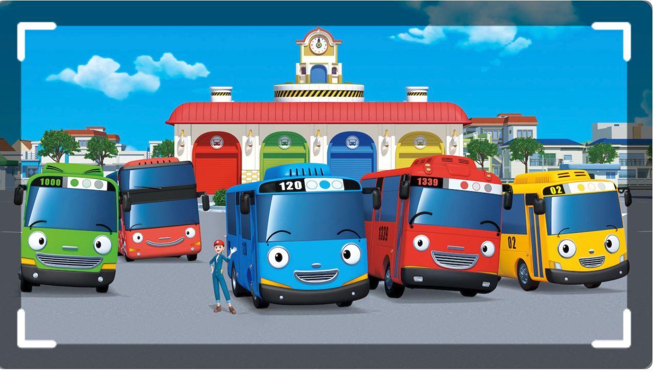 Tayo The Little Bus Tayo The Little Bus Little Bus Bus Cartoon