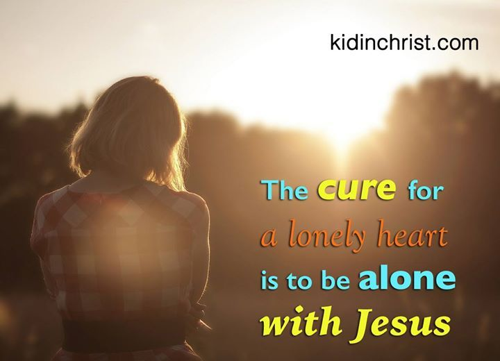 The cure for my heart with jesus. http://kidinchrist.com