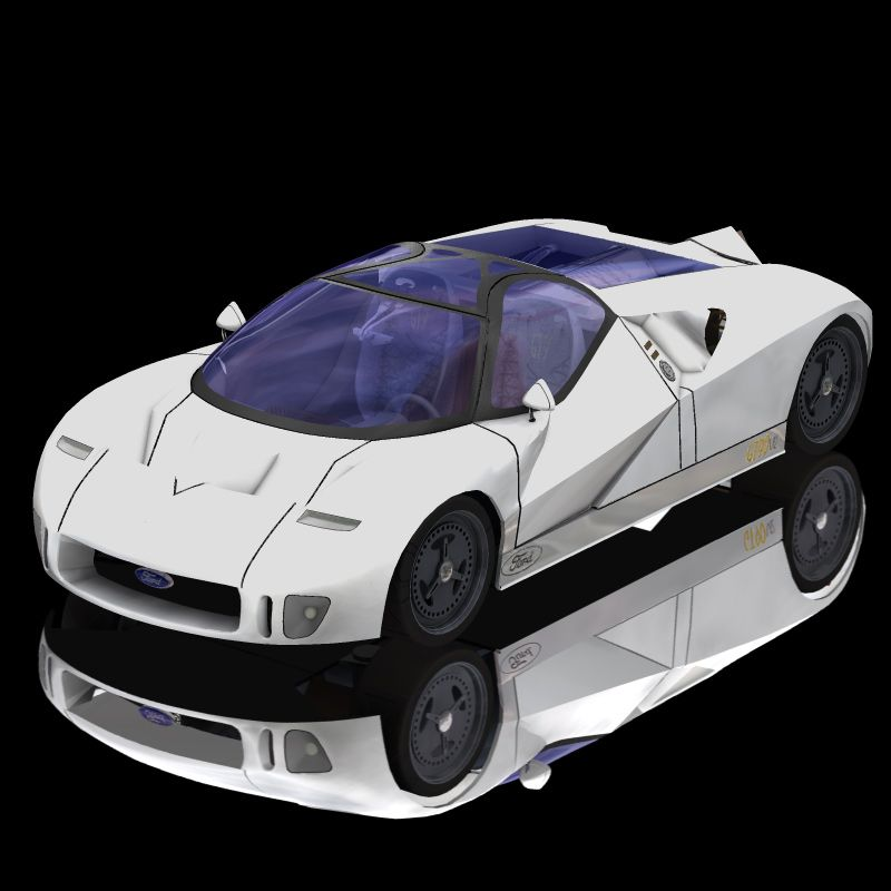 ford gt90 ford gt90 for poser and vue vehicles. Black Bedroom Furniture Sets. Home Design Ideas