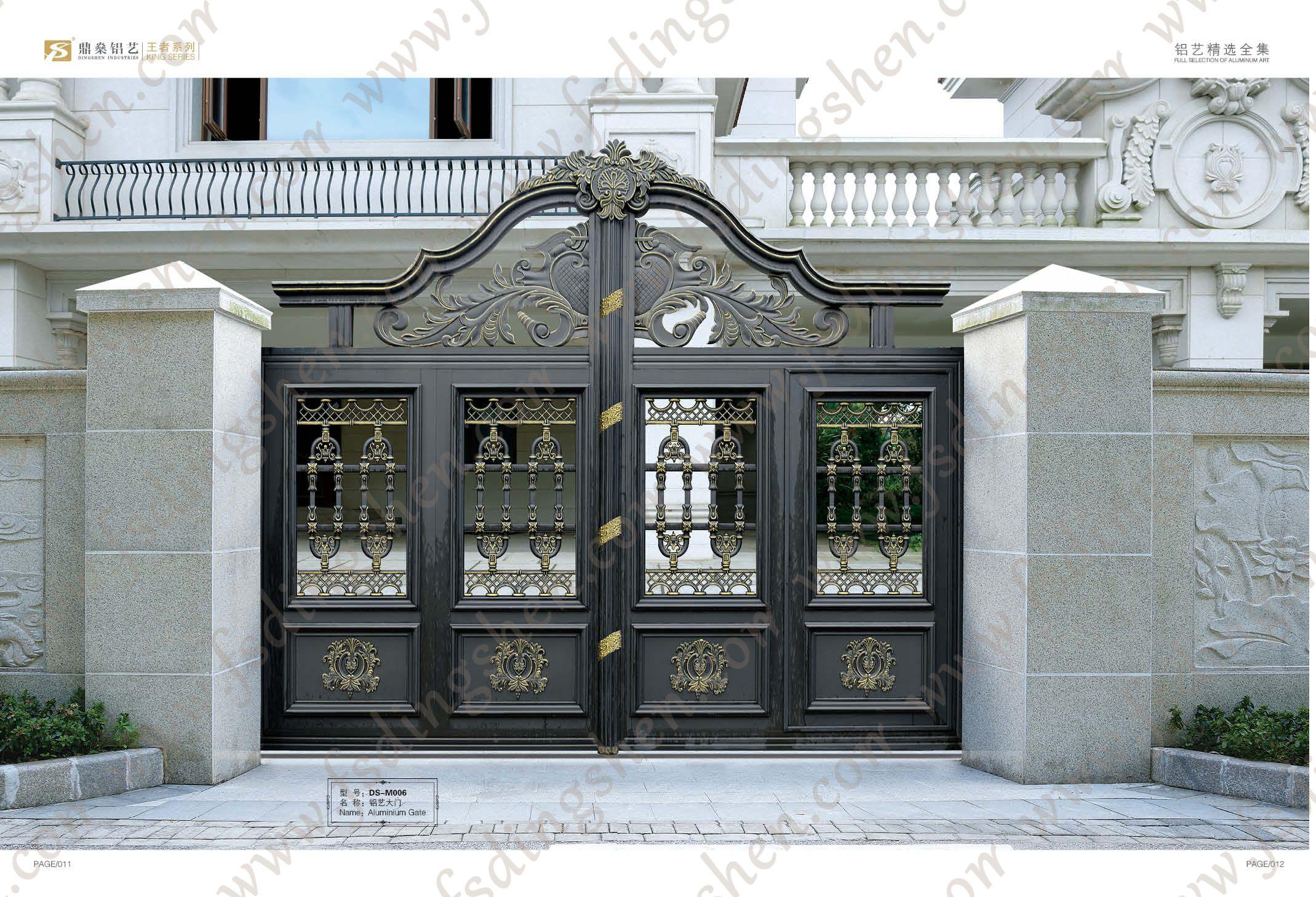Gate Ideas, Driveway Gate, Iron Gates, Entry Doors, Garden Gates, Iron  Work, Driveways, Wood Gates, Concrete Slab