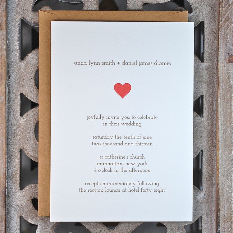Something about this tiny red heart makes me happy Wedding