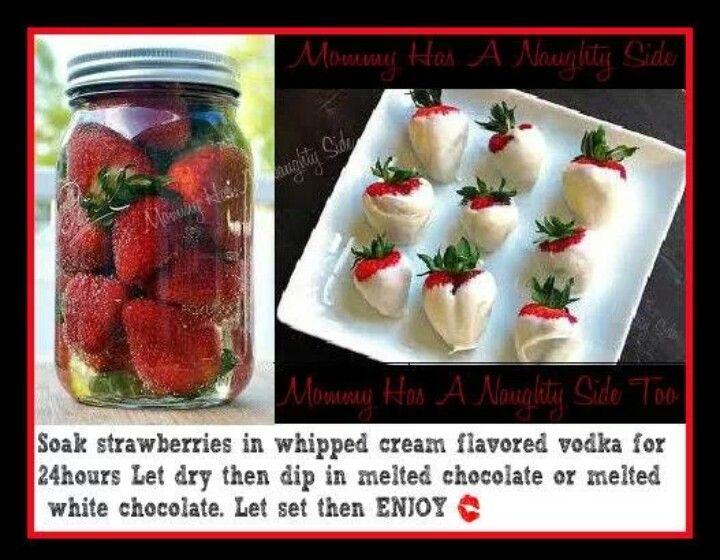 Vodka strawberries :P