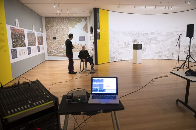 Moma Collecting Alvin Lucier S I Am Sitting In A Room Room Sit Museum Of Modern Art