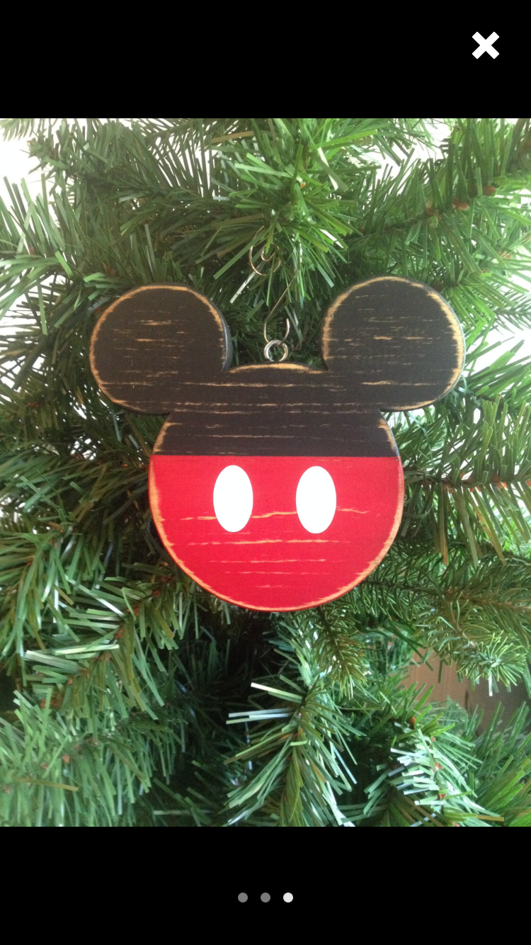 Pin By Jacki Finland On Disneyland Disney Christmas Decorations Mickey Mouse Ornaments Disney Christmas Ornaments