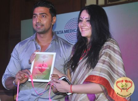 Tollywood Superstar Dev pledges support for Dil Se Deejiye campaign; Kolkata Denizens Extend Overwhelming Support  Read more: http://sholoanabangaliana.in/blog/2015/09/08/tollywood-superstar-dev-pledges-support-for-dil-se-deejiye-campaign-kolkata-denizens-extend-overwhelming-support/#ixzz3l9mVPGHz