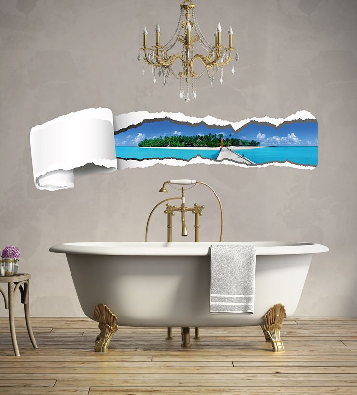 Wandsticker for your #bathroom / für dein #Bad #Deko #decor #pretty