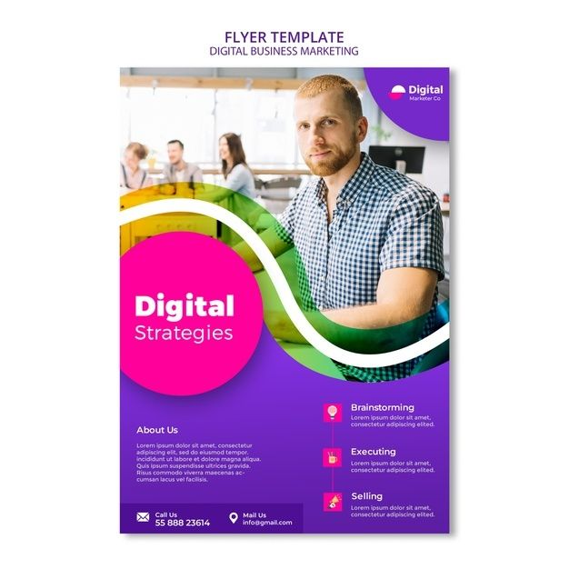 Download Digital Business Marketing Flyer Template for ...