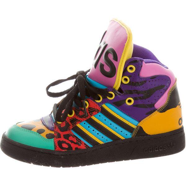 x Adidas Multicolor High-Top Sneakers