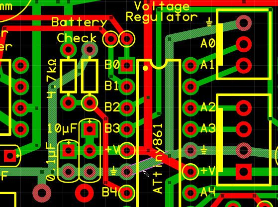 Features and Screenshots of Copper Connection PCB Editor - Robot ...
