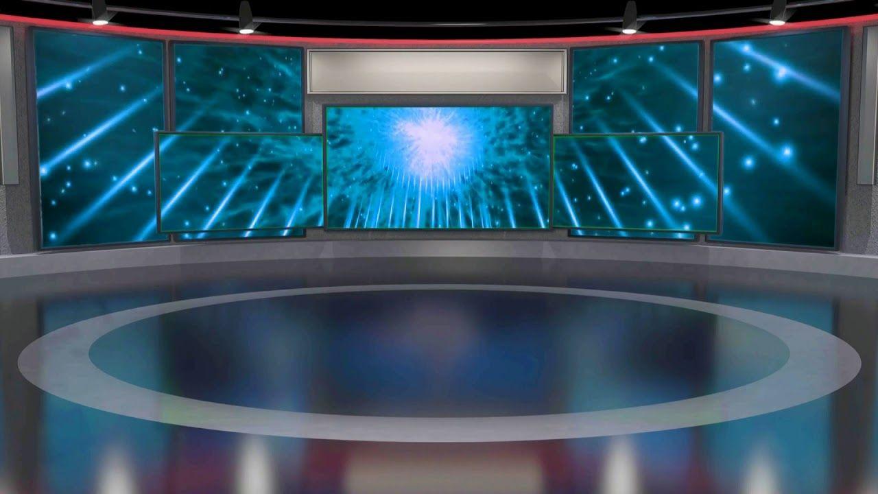 Virtual Studio Green Screen Video Tv Studio Background Animation 378 Virtual Studio Greenscreen Tv Set Design