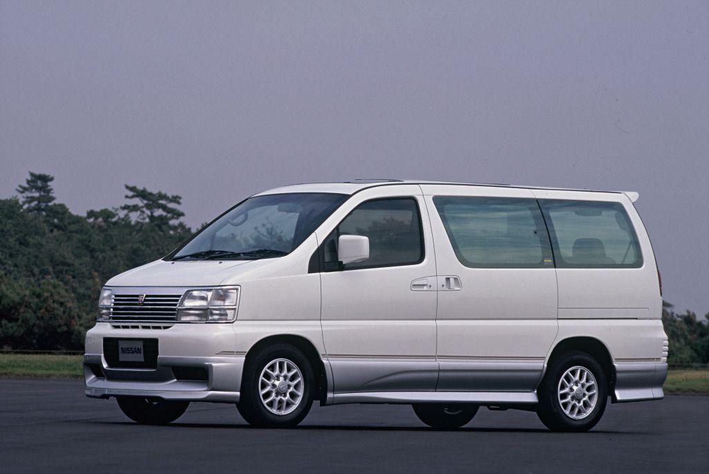 Nissan Elgrand (E50) '199799(画像あり) エルグランド e50, エルグランド