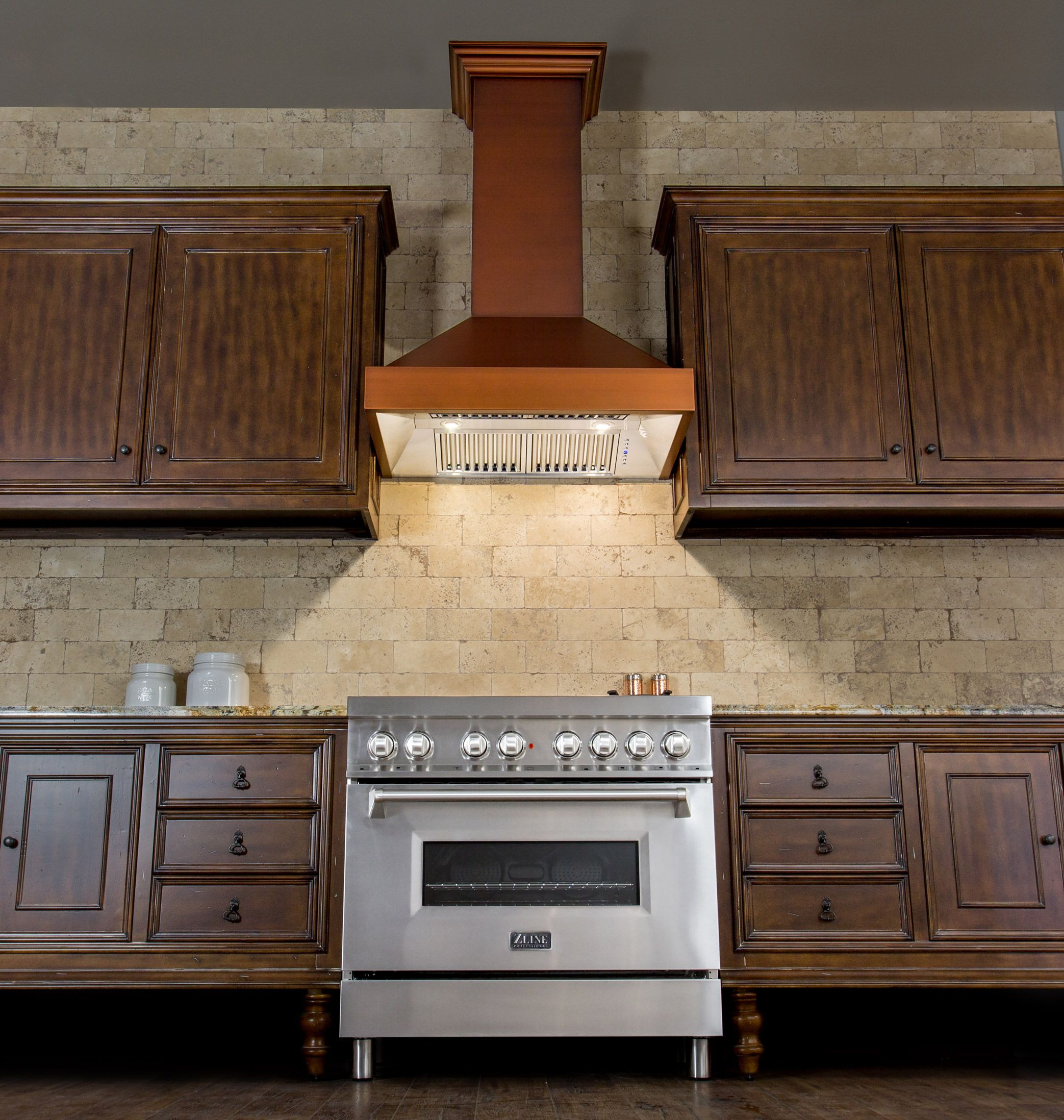 Keep It Simple With A Modern 7 Layer Baked Copper Finish Range