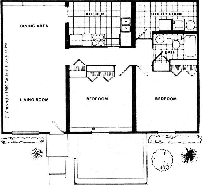 32 Beautiful Floor Plan 2 Bedroom Apartment Design