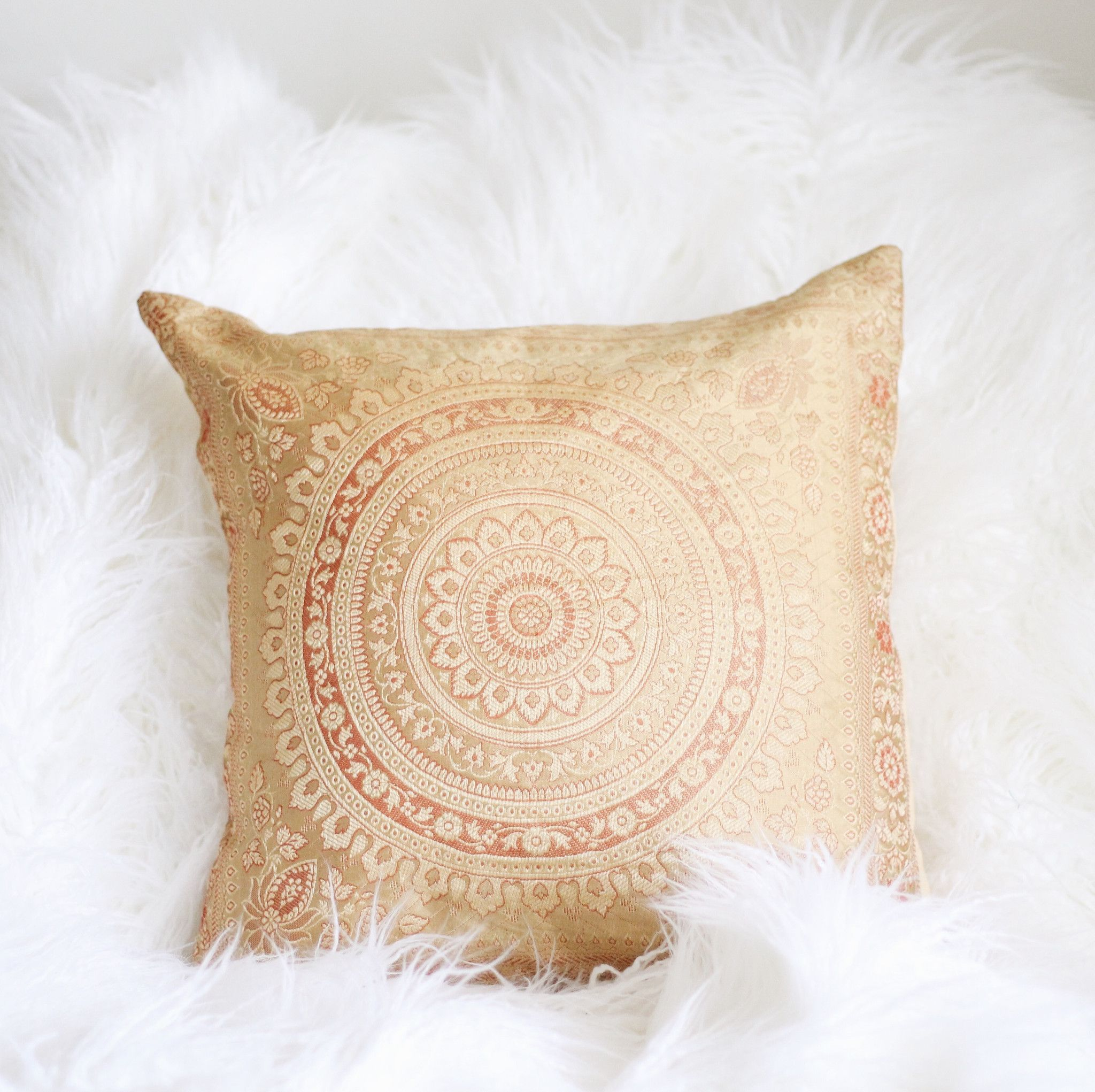 Brocade Home Decor Decoration hypnotic silk brocade pillow cover | silk brocade, pillows and