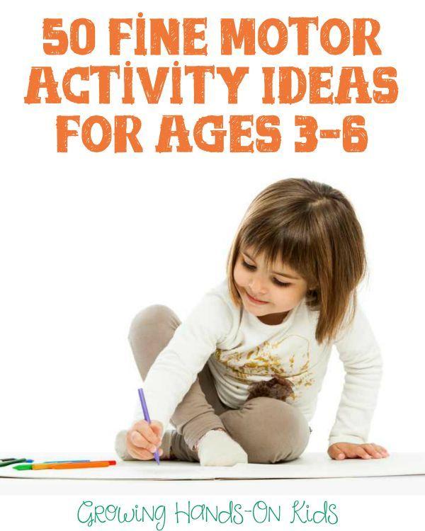 50 Free Fine Motor Activity Ideas For Children Ages 3 6 Fine Motor Activities Preschool Fine Motor Fine Motor Activities For Kids